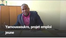 Yamoussoukro, projet emploi jeune